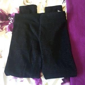 Diadora small fuzzy leggings